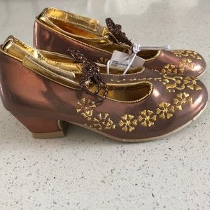 7d23f90b4841 Disney Shoes - Gold Elena of Avalor costume shoes